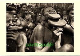 OUBANGUI CHARI - A.E.F. - FEMMES A PLATEAUX - SUPERBE - Central African Republic