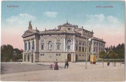 LJUBLJANA. Operno Gledalisce - Slovénie