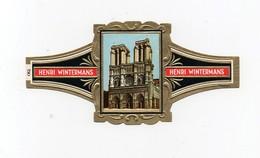 Bague De Cigare Henri Wintermans Cathédrale Notre Dame De Paris - Bagues De Cigares
