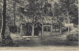 Tieghem.  -  Kapellewachtershuis.   -   1909   Naar   Iseghem - Anzegem