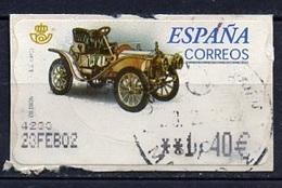 Espagne - Spain - Spanien Distributeur 2001 Y&T N°D55-1,40€ - Michel N°ATM54-1,40€ (o) - De Dion Bouton - Machine Stamps (ATM)