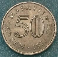 Malaysia 50 Sen, 1977 -4521 - Malaysia