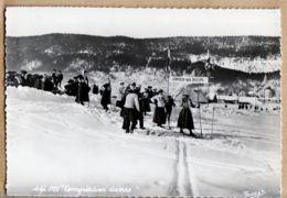 X38119 Photo FOUSSET Grenoble Isère SKI 1920 Compétition Dames CPSM GF 1950s - France