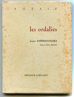 Madagascar Jacques RABEMANANDJARA Les Ordalies 1972 EO Dédicacé - Poésie