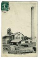 Lavaveix Les Mines - Puits Central (côté Ouest) Chevalet, Cheminée, Stockage Briques Charbon, Réservoir Au Premier Plan - Andere Gemeenten
