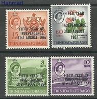 Trynidad And Tobago 1967 Mi 206-209 MNH ( ZS2 TRT206-209 ) - Trinidad Y Tobago (1962-...)