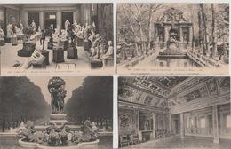 19 / 5 / 125  -   PARIS   - PALAIS. DU. LUXEMBOURG. - LOT  DE  6. CPA ( INT.  ET. JARDIN ) - Autres Monuments, édifices
