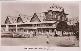 British Guiana  GEORGETOWN Victoria Law Courts RP  Bg347 - Postcards