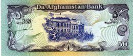 Billet Banque D'Afghanistan 50 Afghanis  Type 1979 Non Daté - - Afghanistan