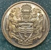 Guyana 25 Cents, 1986 -4523 - Guyana