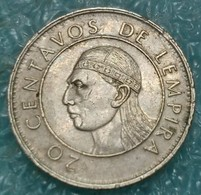 Honduras 20 Centavos, 1990 -4524 - Honduras