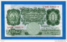 Uk  Pound  1955/1960  Sup - 1 Pound