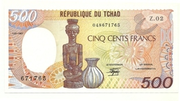 Ciad - 500 Francs 1987 - Chad