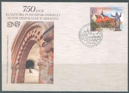 POLAND - 24.6.2010 - FDC - MONASTERY SIERADZ - Yv 4210 -  Lot 19491 - FDC