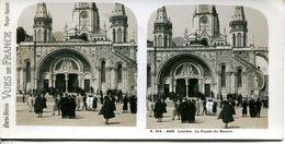 N°72799 -carte Stéréoscopique -Lourdes- - Cartes Stéréoscopiques