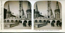 N°72802 -carte Stéréoscopique -Lourdes- - Cartes Stéréoscopiques