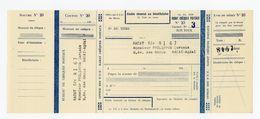 CHEQUE DE L'OFFICE DES PTT DE RABAT (ANNÉE 1951) UTILISÉ SOUS LE PROTECTORAT DE LA RÉPUBLIQUE FRANÇAISE AU MAROC - GOUVE - Chèques & Chèques De Voyage