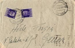 BUSTA POSTA MILITARE 262 1940 BARDIA LIBIA OSPEDALE DA CAMPO 803 X GENOVA - 1900-44 Victor Emmanuel III.