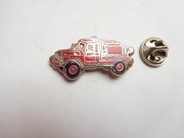 Beau Pin's En Zamac , Camion Sapeurs Pompiers , Auto 4X4 - Bomberos
