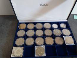 Coffret 20 Médailles Et Ecu Trésor Du Patrimoine En FDC - Euros Of The Cities