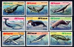 NIUE - N°388/96 ** (1983)  BALEINES - Niue