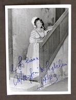 Musica Lirica - Autografo Della Cantante Margherita Guglielmi - 1979 - Autografi