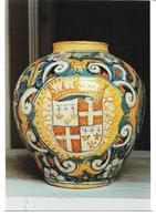 3055k: AK Maolica Vase, Museum Malta/ Valetta, Ungelaufen - Schöne Künste