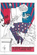 BOURSE SALON CARTE POSTALE A WICHITA USA ILL. FARABOZ INDIEN STATUE LIBERTÉ 1988 - Collector Fairs & Bourses