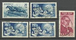 LOT SARRE COTE 76 - Stamps