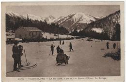 CPA 06 : 10784 - VALDEBLORE - Le Col - Sports D'hiver - Le Refuge - Ed. BEF Adia à Nice - Autres Communes