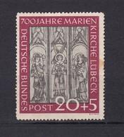 BRD - 1951 - Michel Nr. 140 - Ungebr. - 35 Euro - BRD
