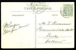 HANDGESCHREVEN BRIEFKAART Uit 1907 Van LOURDES Naar VENLO (11.550H) - Frankrijk