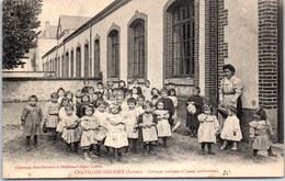45 CHATILLON COLIGNY - Le Groupe Scolaire (classe Enfantine) - Chatillon Coligny