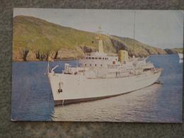 ROYAL NAVY HMS HECATE SURVEY SHIP - Warships
