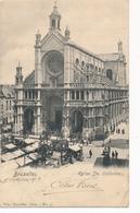 CPA - Belgique - Brussels - Bruxelles - Eglise Ste-Catherine - Monuments