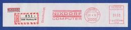 BRD AFS - HAMBURG, Nixdorf Computer + R-Zettel 1990 - Computers