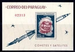 PARAGUAY - BLOC N°36  (1963) Schirra , Mercury - ESPACE - - Space