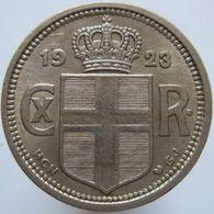 Iceland 25 Aurar 1923 XF / UNC Scarce - Islande