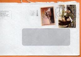 PAPEETE LE MARIAGE DE LOTI 1998 Lettre Entière 110x220 N° OO 99 - Lettres & Documents