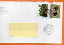 PAPEETE LES PERLES DE TAHITI 1997 Lettre Entière 110x220 N° OO 100 - Lettres & Documents