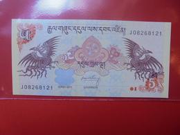 BHOUTAN 5 NGULTRUM 2011 PEU CIRCULER/NEUF - Bhoutan