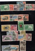 Lot Liberia Anciens Timbres à Identifier - Francobolli