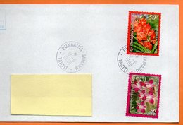 PUNAAUIA  LES ORCHIDEES 1998 Lettre Entière 110x220 N° OO 105 - Lettres & Documents