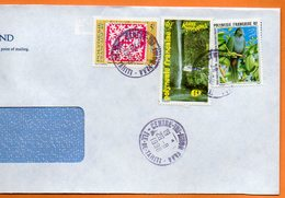 CENTRE TRI AVION   OISEAUX UNIQUES AU MONDE UPE 1998 Lettre Entière 110x220 N° OO 106 - Lettres & Documents