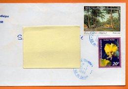 CENTRE TRI AVION   LES ORCHIDEES TROPICALES 1998 Lettre Entière 110x220 N° OO 107 - Lettres & Documents