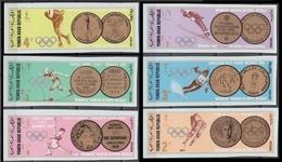 1968Yemen YAR 767-72b1968 Olympic Games In Grenoble12,00 € - Winter 1968: Grenoble