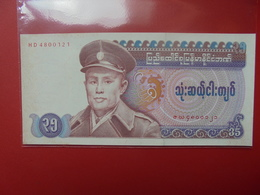 BURMA 35 KYATS 1986 PEU CIRCULER/NEUF - Myanmar