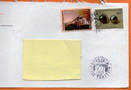 PAPEETE  INSTRUMENT DE MUSIQUE 1998 Lettre Entière 110x220 N° OO 111 - Lettres & Documents