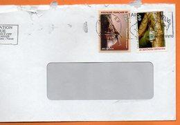 PAPEETE  CIGALE DE POLYNESIE 1998 Lettre Entière 110x220 N° OO 112 - Lettres & Documents