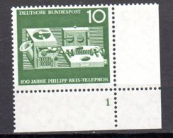 Bund   373 ** Postfrisch  Formnummer - Unused Stamps